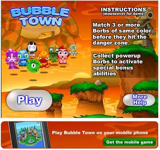 Bubble Town.
