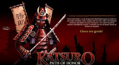 katsuro: diventa un samurai per gioco.