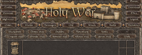 Holy War: diventa un crociato.