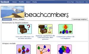 Gioco sociale su facebook, Beachcombers