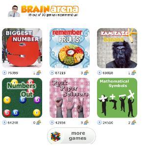 Brain Arena, giochi per la mente