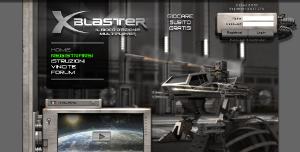 Browser game con robot: Xblaster