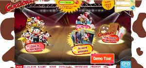 MilkTime, un sito pieno di giochi e sfondi colorati