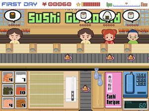 Giochi di cucina: Sushi go round.
