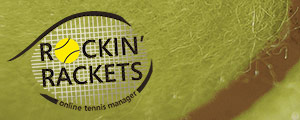 Rockin' Rackets, gioco di tennis.