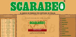 Scarabeo online: digital 2.0