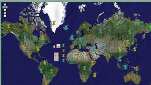 Guerra planetaria nelle google maps con Risk!