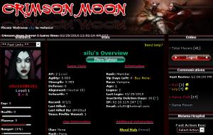 Crimson Moon.
