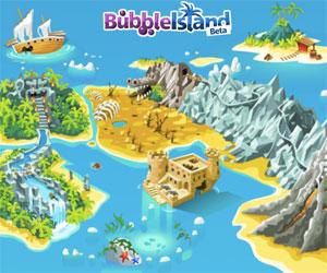 Bubble island puzzle.