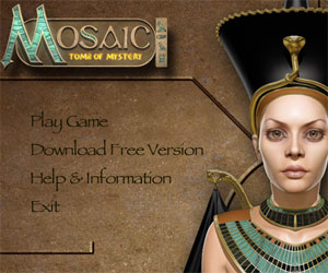 Mosaic, gioco sull'antico Egitto.