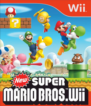 New Super Mario Bros Wii.