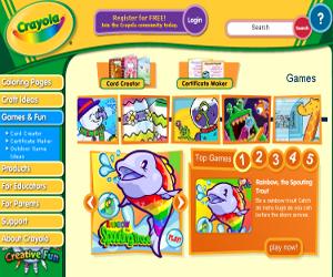 Attività creative online per bambini.