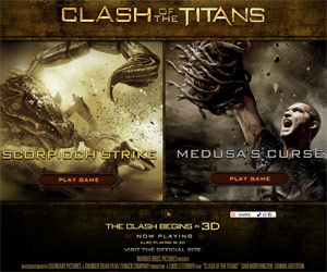 Clash of the Titans, il gioco online!