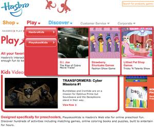 Hasbro play online.
