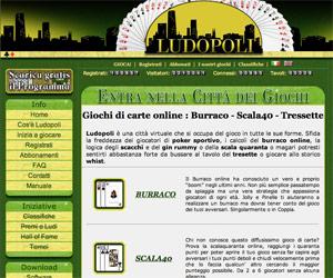 Ludopoli, Scala 40 e Tresette online.