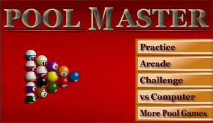 Gioca a Biliardo online, gratis e anche su Facebook, con Pool Master.