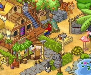 Gioca a costruire il tuo parco nella Savana, con Funfari!