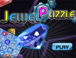 Puzzle game coloratissimo, è il gioco Jewel Puzzle, su Facebook!