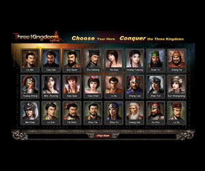 Browser Game sulla Cina: Three Kingdoms online.
