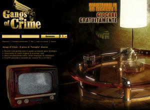 Gangs of Crime, gioco di mafia online.