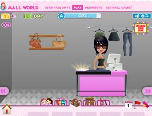 Gioco online su facebook dove gestisci il tuo negozio virtuale di abbigliamento.