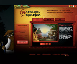 Shogun Kingdoms, un gioco di ruolo strategico ambientato in Giappone nel 1457.