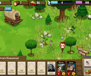 Fontier Ville, social game di fattoria, su Facebook.