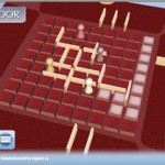 Quoridor: Schermata di gioco.