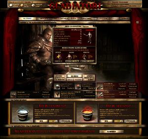 In Arenas Of Glory combatti per gioco come un gladiatore dell'antica Roma.