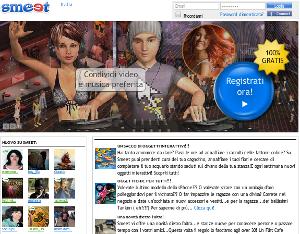 Smeet è una community online ambientata in un mondo virtuale 3D.
