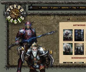 Tecno Magik, schermata di gioco.