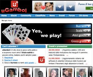 Burraco e ramino online su uGamble.