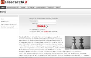 Sfide a scacchi su ItaliaScacchi.it