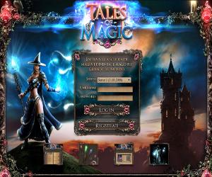 Tales Of Magic, gioco di ruolo di magia.