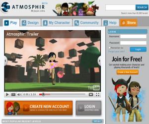 Atmosphir, role playing game di avventura in 3D .