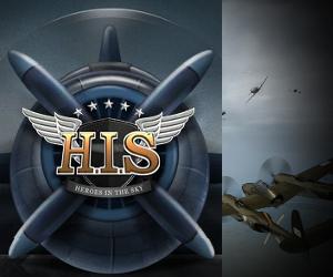 Heroes in the Sky, gioco di combattimenti aerei.