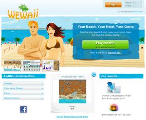 Costruisci il tuo hotel e rendi felici i turisti su Wewaii.