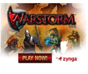 Warstorm, gioco online fantasy su Facebook.