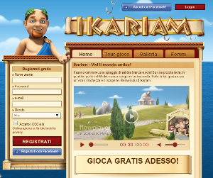 Ikariam, browser game di strategia.