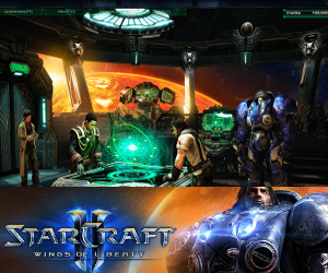 Starcraft 2: Wings of Liberty.
