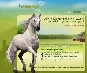 Howrse, gioco online sui cavalli.