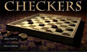 Checkers, la dama online