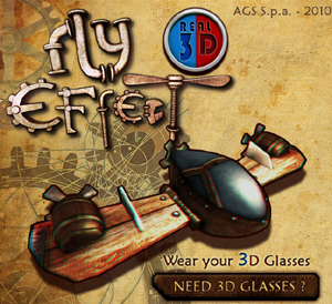 Fly-Effect-Real-3D