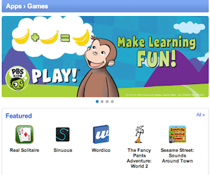 I giochi nel Chrome web store