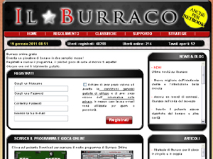Burraco su internet