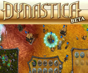 Dynastica, il browser game in 3d