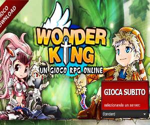 Wonder King, RPG di avventura Jump and Run