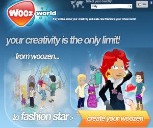 Wooz World, mondo virtuale online
