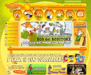Giochi online gratis di Geronimo Stilton!
