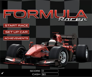 Formula 1 racer, videogioco online.